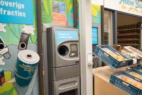 Doneren aan het goede doel via de flessenautomaat